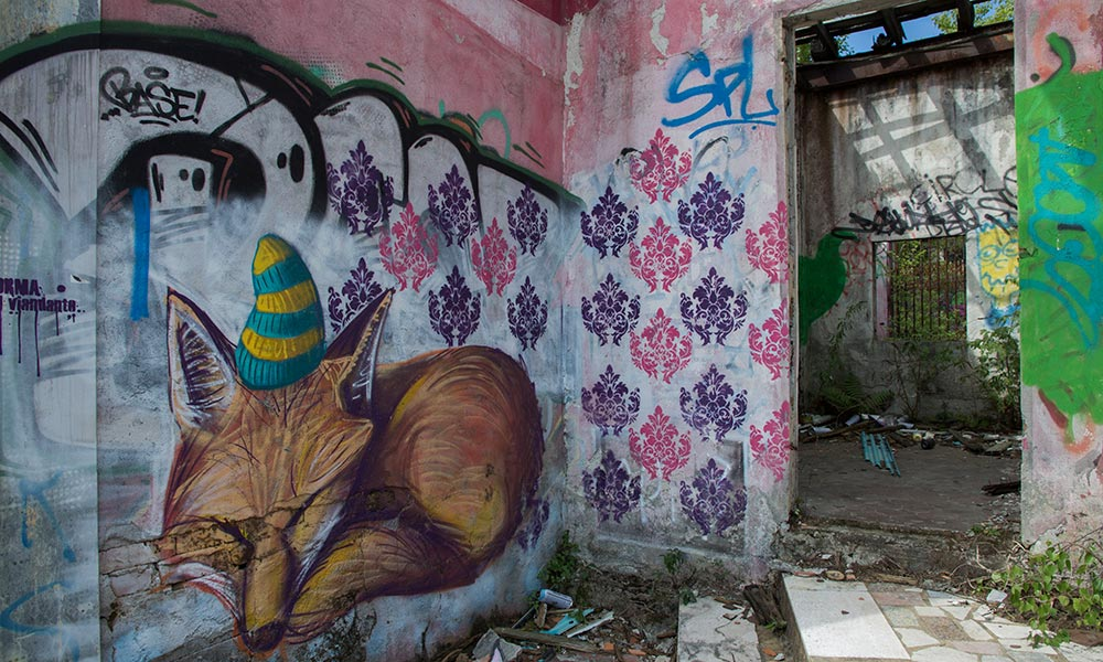 urbex e street art