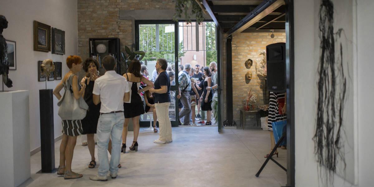 galleria arte contemporanea italia magazzeno