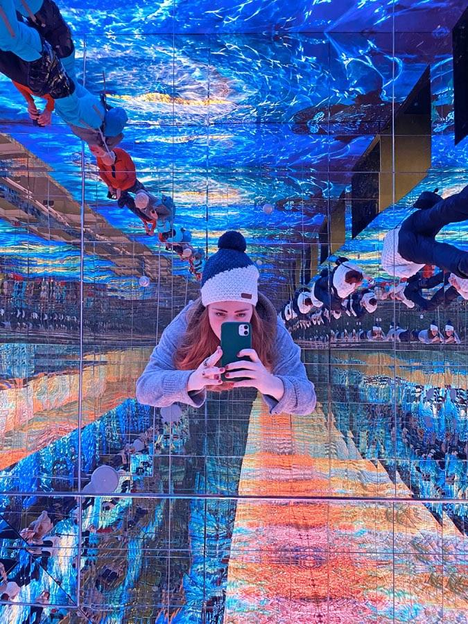 lumen museo della fotografia di montagna sala degli specchi