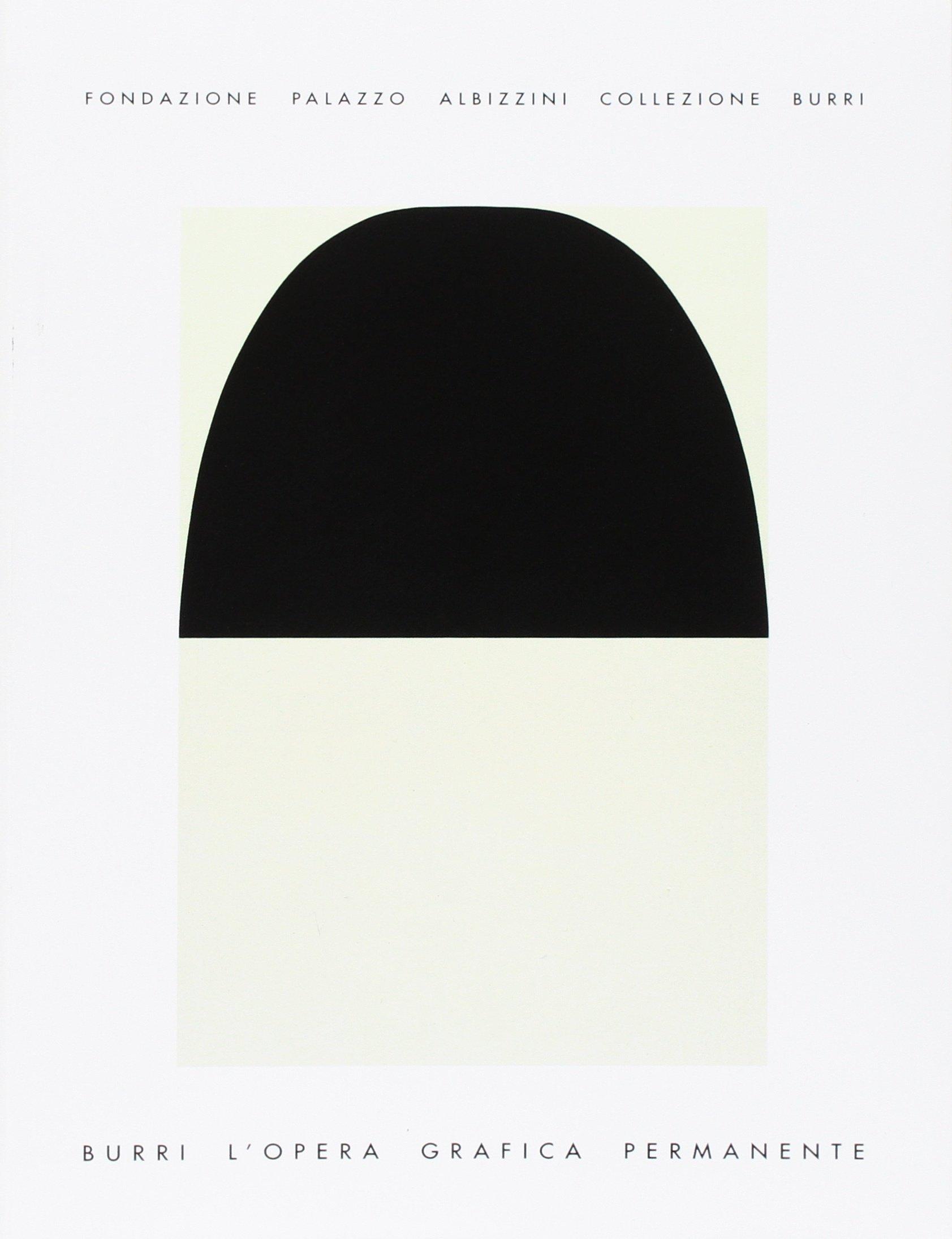 cataloghi arte contemporanea burri