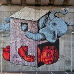 Ericailcane, dove trovare 10 opere dello street artist in Italia