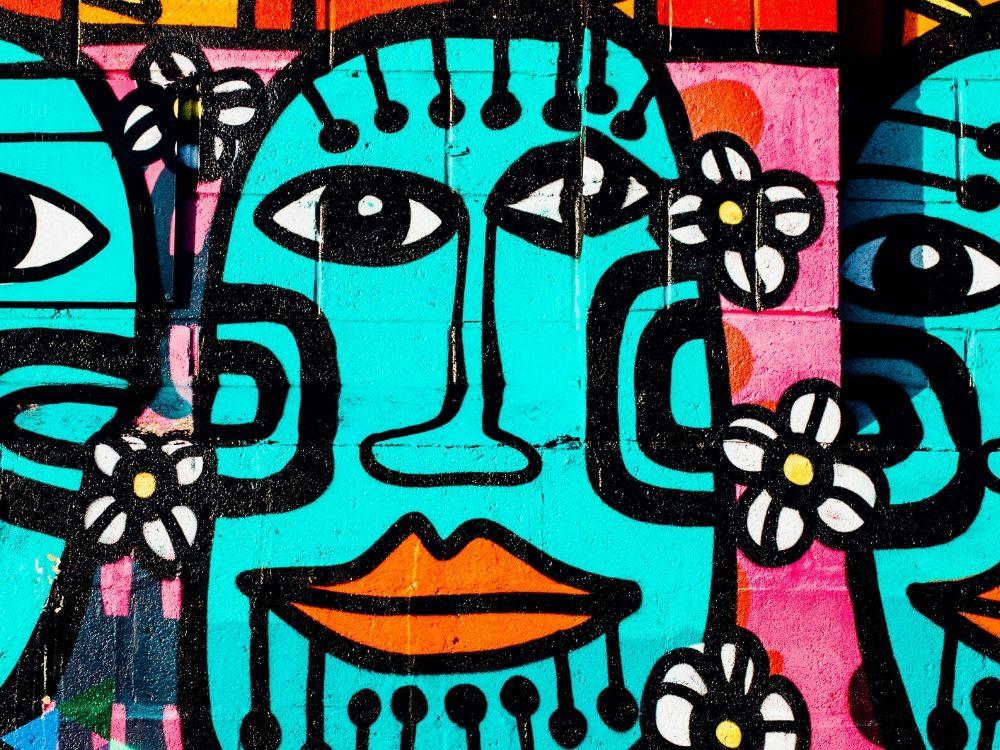 street artist donne copertina