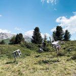 Respirart, visita al parco della land art in Val di Fiemme