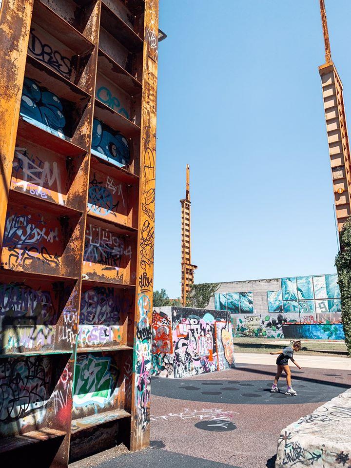 street art torino parco dora dettaglio